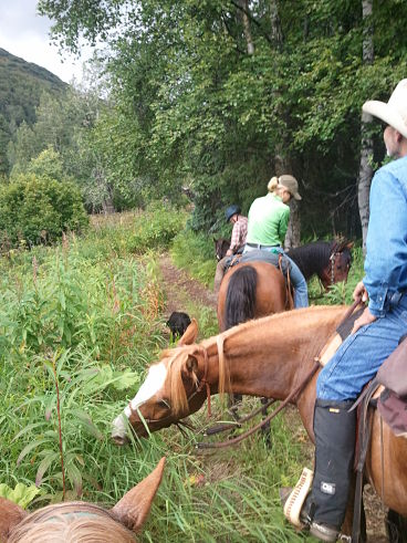Trail Ride With Dick Stoffel